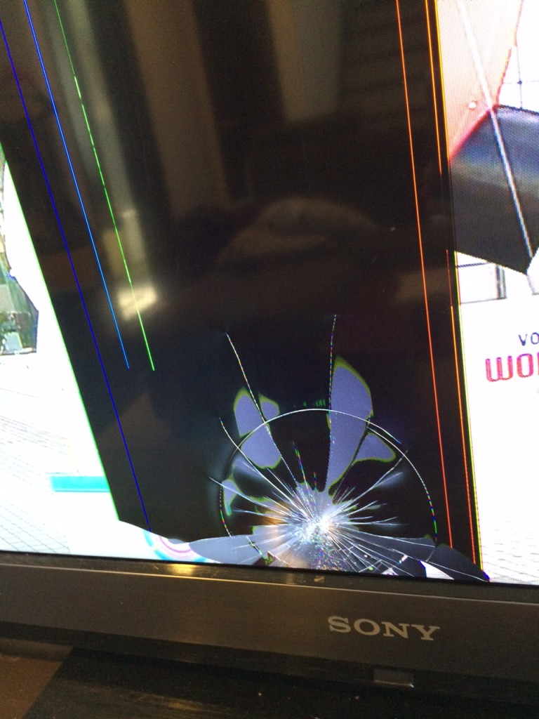 壊れたテレビ2