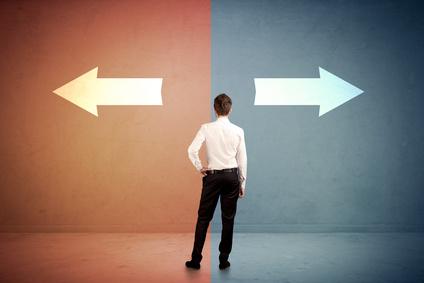 新しい2つの道