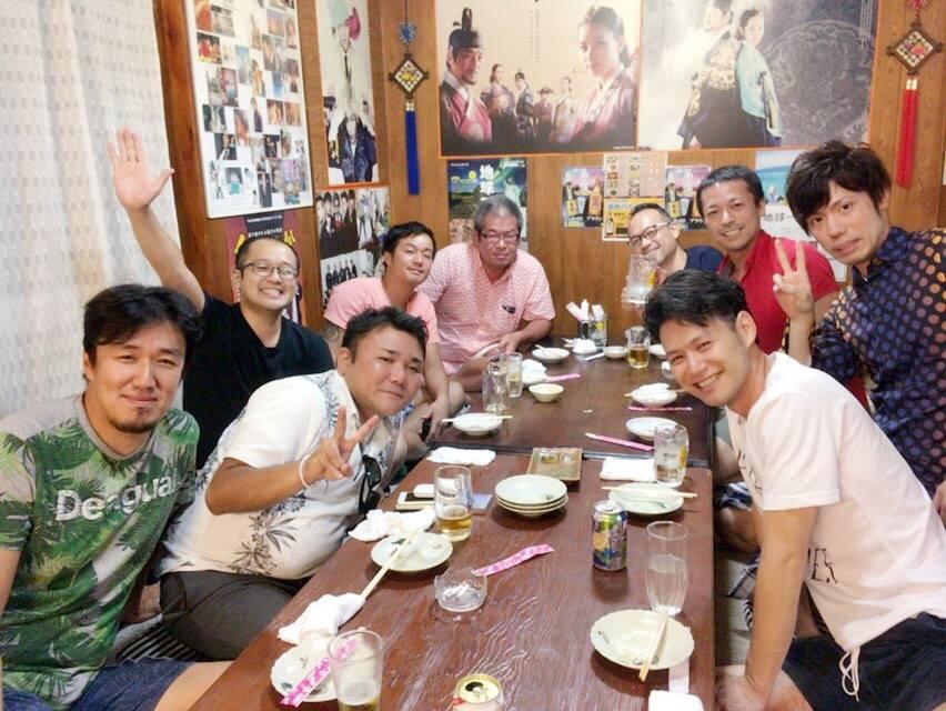 韓国飲み会2